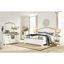 Wystfield 4 Pc Queen Bedroom Set White/Brown