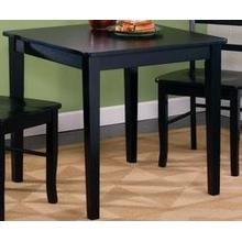 30X30 TABLE BLACK AND LEGS