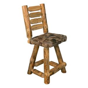 """Best Craft Furniture - RRP349  30"""" Barstool with Back & Upholstered Seat (no swivel)"""
