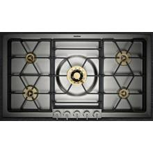 OPEN BOX - Gaggenau VG295214CA Gas Cooktop with 5 Sealed Burners Natural Gas, 3-Ring Wok Burner, Electronic Flame Monitoring, 36 Inch