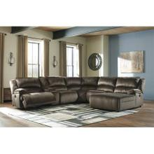 Clonmel Chocolate 5PC PWR Sectional (36504)