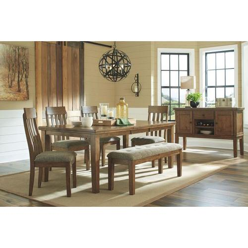 Ashley - 6-piece Dining Room Package