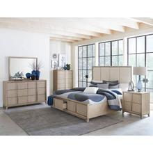 McKewen Qn Storage Bed, Dresser, Mirror and Nightstand