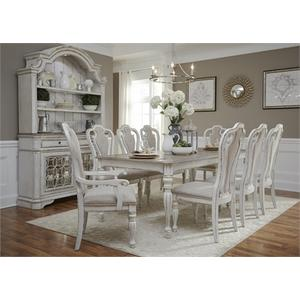 Magnolia Collection 9' Extenstion Table w/ 6 Side Chairs & 2 Arm Charis