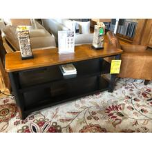 BASSETT BENCH MADE OPEN SIDEBOARD