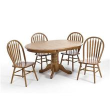 Classic Oak 5 piece Set