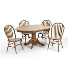 See Details - Classic Oak 5 piece Set