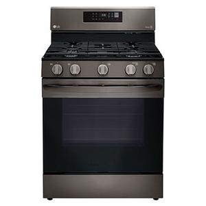 "30"" 5.8 CU. FT. Gas Convection Range with 5 Sealed Burners Product Image"