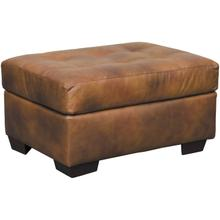 Leather Chaps Ottoman
