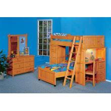 See Details - Bayview Roundup Modular Loft Bed