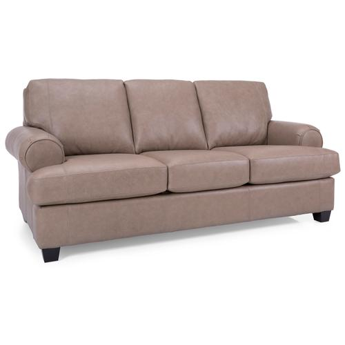 3285 Leather Sofa  - City All Leather