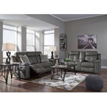 Jesolo- Dark Gray  Reclining Sofa and Loveseat