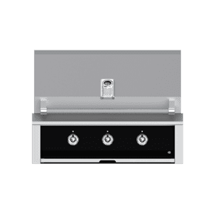 "Aspire By Hestan 36"" Built-In U-Burner and Sear Grill LP Stealth Black"