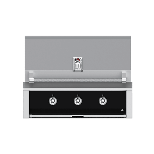 """Product Image - Aspire By Hestan 36"""" Built-In U-Burner and Sear Grill LP Stealth Black"""