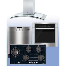 """MIELE - Save up to $1,400 on Miele Kitchen Packages of your choice. See 4-Pc """"Built-In"""" Example."""