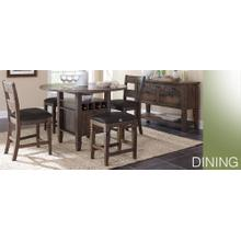 See Details - 5 PC Counter Dining Set