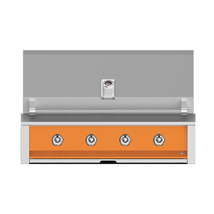 "Aspire By Hestan 42"" Built-In U-Burner and Sear Grill NG Citra Orange"