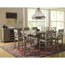 Outer Banks Counter Height Dining Table & 6 Stools