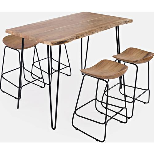 """Natures Edge 52"""" Table & 4 Stools"""