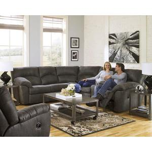 Reclining Sectional | Tough/Durable Microfiber | 5 Seats   Cup Holders