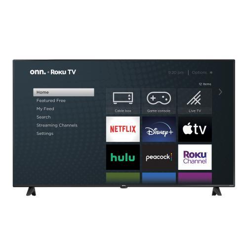 onn. 50 Class 4K UHD (2160P) LED Roku Smart TV HDR (100012585)