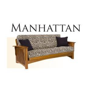 Solid Oak Futon Frame - Manhattan