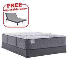 Buy the SEALY Evident Queen Mattress, get a FREE Adjustable Base!
