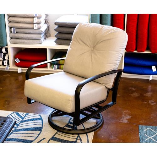 Woodard Furniture - Fremont Cushion Swivel Rocking Lounge Chair