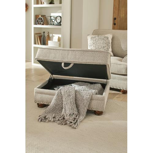 Jackson Furniture - Farmington Storage Ottoman in Buff Fabric
