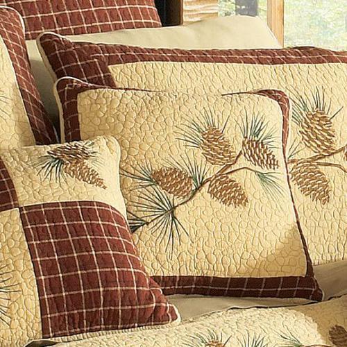Pine Lodge Throw Pillow