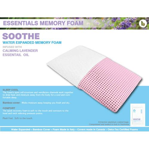Essentials Memory Foam - Soothe