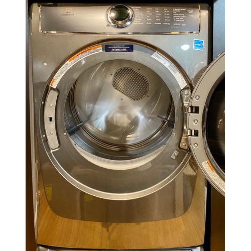 Electrolux EFME627UTT   Front Load Perfect Steam™ Electric Dryer with PredictiveDry™ and Instant Refresh - 8.0. Cu. Ft.