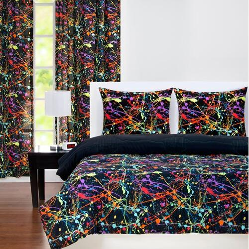 """Neon Splat"" Crayola Comforter Sets Twin"