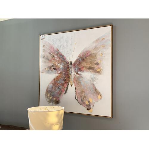 Wall Art Butterfly Canvas