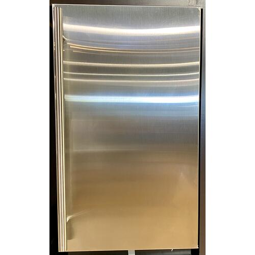 """U-Line - U-Line 3018RFS00     Stainless Right-hand Modular 3000 Series / 18"""" Refrigerator / Single Zone Convection Cooling System"""