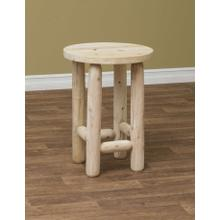 """See Details - 20"""" Round Adirondack End Table"""