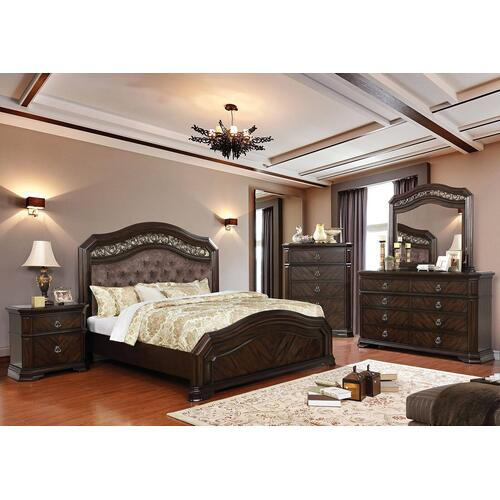 Calliope 4Pc Cal King Bed Set