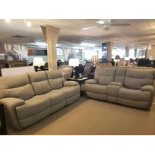 Power Reclining Sofa & Console Loveseat with Power Headrests