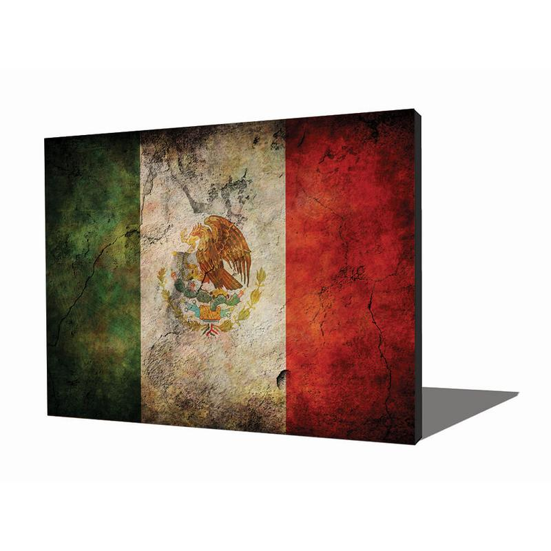 View Product - Wall Art - Mexican Flag