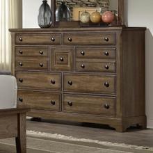 Dark Oak Villa Dresser