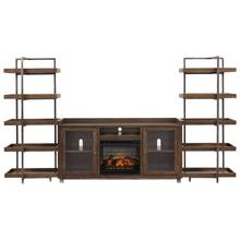 Starmore 3-piece Wall Unit With Electric Fireplace