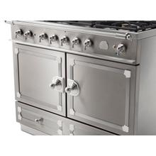 See Details - CornuFe 110 Induction Range - Stainless Steel with Stainless Steel and Satin Chrome Trim