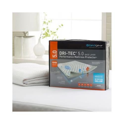 Bedgear - Twin Size Dri-Tec 5.0 Performance Mattress Protector