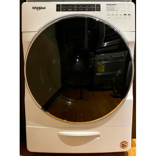 Whirlpool WFW8620HW    5.0 cu. ft. Front Load Washer with Load & Go XL Dispenser
