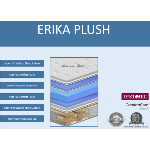 ERIKA PLUSH FLIP MATTRESS