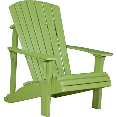 Deluxe Adirondack Chair Lime Green