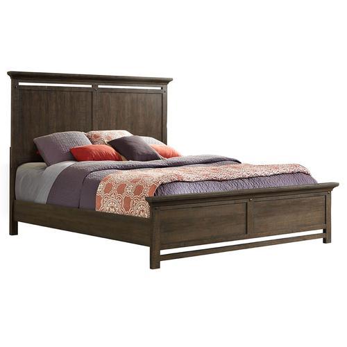 Queen Artisan Panel Bed