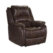 Barling Walnut Power Recliner Adjustable Headrest