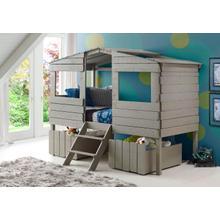 Twin Tree House Low Loft Bed