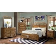 4 PC bedroom set -Honey